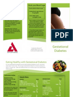 gestational diabetes handout