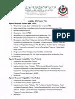 Agenda Mesyuarat PBS MKI