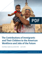 The Contributions of Immigrants and Their Children to the American Workforce and Jobs of the Future