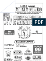 Examen de Olimpiada de a 3ro Prim 2008 (1)
