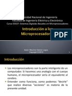 01 Introduccion a Los Microprocesadores