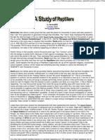 A Study of Reptilians-David Icke