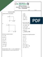 Reforco Matematica Em Racionalizacao Atividade 8