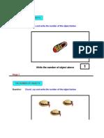 Mathematics Presentation Excel ( Worksheet ) - 01 Number Sense
