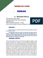 Resumo Do Livro Demian