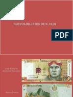 Nuevos Billetes 10 a 200 Soles