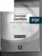 Grammar Essentials Graded Exercises in English Robert j Dixson
