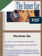The Inner Ear