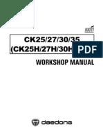 Kioti Ck25 Ck30 Ck35 Wm d704-w01