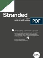 Stranded- Alpha Coal Project in Australia's Galilee Basin