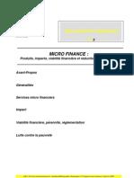 Impacts Micro Finance