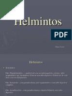2ª aula - Parasitologia - Helmintos[1]