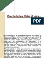 Propiedades Natural Gas