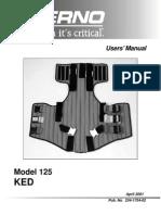 Manual Chaleco KED