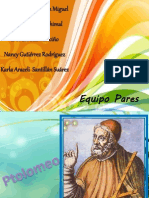 Equipo Pares Ptolomeo