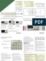 Tektronics - Oscilloscope Pocket Guide