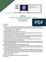 June 2013 PROS Agenda