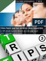 VENTA DE SERVICIOS PROFESIONALES Series de Liderazgo en Acción