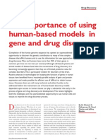 74224522 02 Fal the Importance of Human Based Models in Gene and Drug Discovery