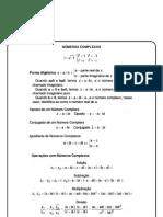 FICHA - NÚMEROS COMPLEXOS - I