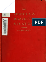 Georges Polti the Thirtysix Dramatic Situations