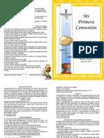 Misal Primera Comunión 2013