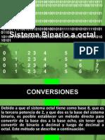 Sistema Binario a Octal