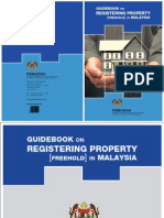 Guidebook Registering Property