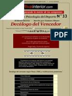 A33.DecalogoVencedo