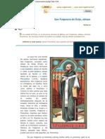 San Fulgencio, Obispo