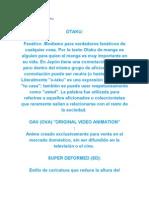 Diccionario de Un Otaku