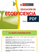 Exposic Educac en Ecoefic.