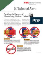 Union Technical Alert
