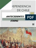 3.- Independencia de Chile