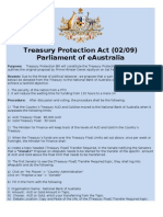 Treasury Protection Act (02/09)
