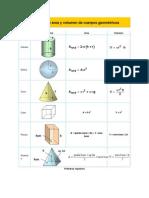 Volumen Cuerpos Geometricos