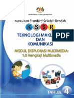 Multimedia Modul 1 BM - tmk tahun 4