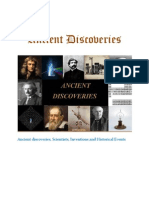 Ancient Discoveries, Contents