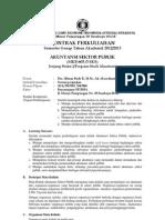 (2) Kontrak Perkuliahan--Akuntansi Sektor Publik 2012-2013