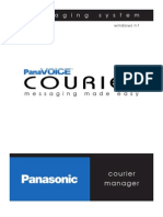 Panasonic DBS Courier Manager