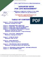 Advanced Keys for Life Management the Universal Buddah ConsciousnesslprwwBk9_Entire