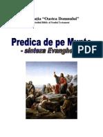Manual Predica de Pe Munte