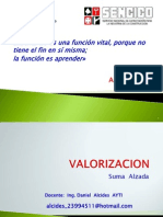e-UNIDAD IV Proceso de Valorización