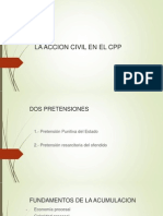 La Accion Civil en El Cpp