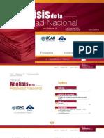 145674711 Revista Analisis de La Realidad Nacional Edicion No 291