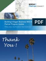 Building a Bigger Business With Kofax - Phillip Jones
