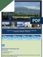 Dispatch for June 19 , 2013 Wednesday, 5 PIA Calabarzon PRs , 8 Weather Watch,7 Regional Watch , 3 OFW Watch , 16 Online News