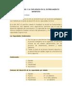 Capacidades Fisicas Coordinativas y Metodos de Entrenamiento