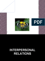 20090504 - A - Interpersonal Relations -