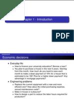 7 Principles of Engineering Economy